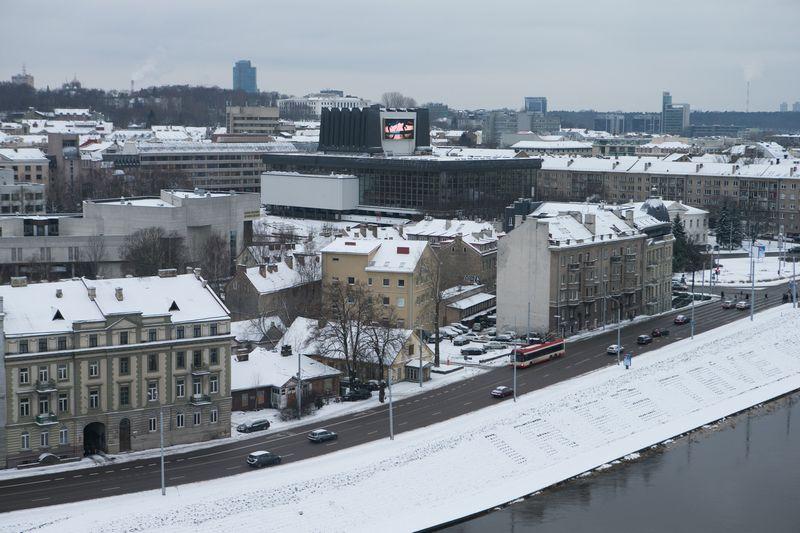 Žygimantų gatvė Vilniuje. Juditos Grigelytės (VŽ) nuotr.