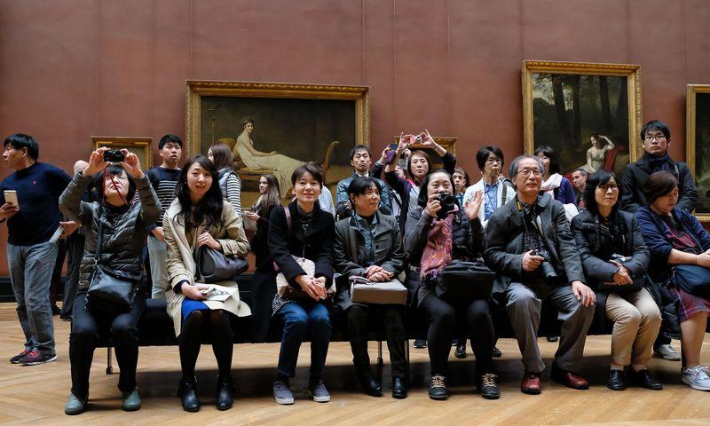 Kinų turistai. Vladimiro Ivanovo (VŽ) nuotr.