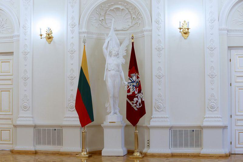 Prezidentūros Baltoji salė. Vladimiro Ivanovo (VŽ) nuotr.