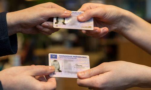 Į banką – su vairuotojo pažymėjimu