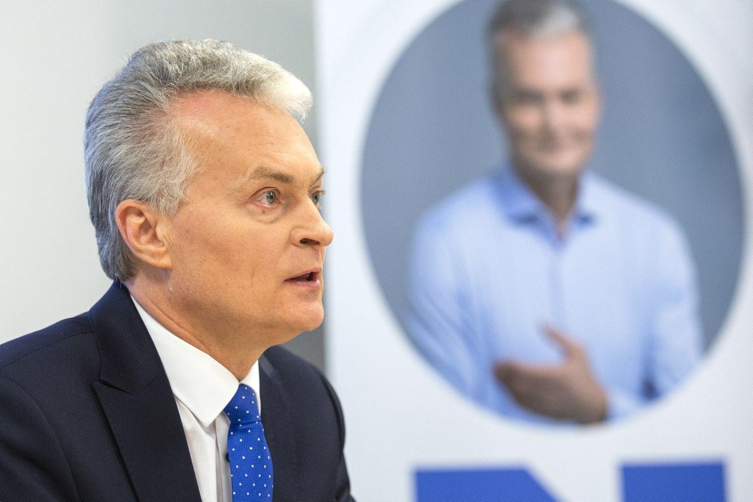 Kandidatų į prezidentus varžybose pirmauja G.Nausėda