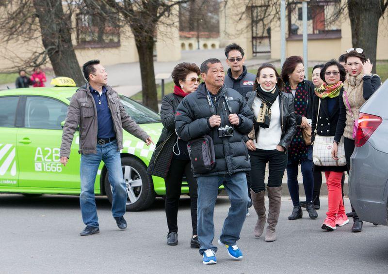 Į Lietuvą atvykstančių turistų iš Kinijos skaičius kasmet auga nuo 2014-ųjų. Juditos Grigelytės (VŽ) nuotr.