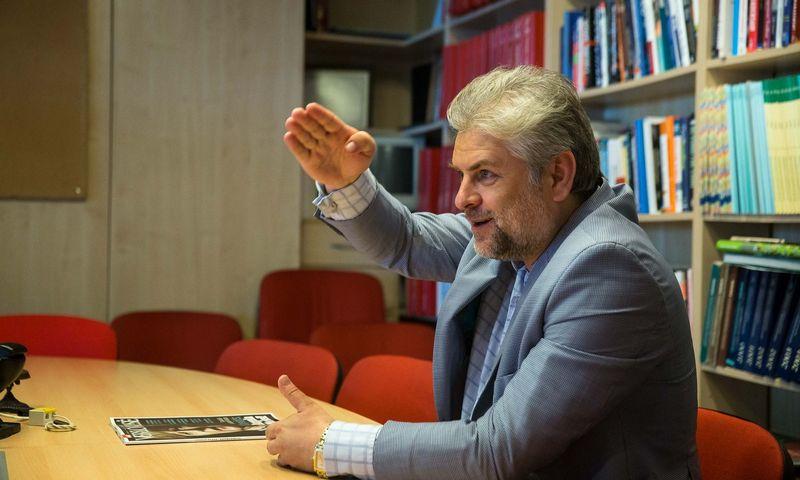 """Nerius Jasinavičius, UAB """"TOC sprendimai"""" direktorius. Vladimiro Ivanovo (VŽ) nuotr."""