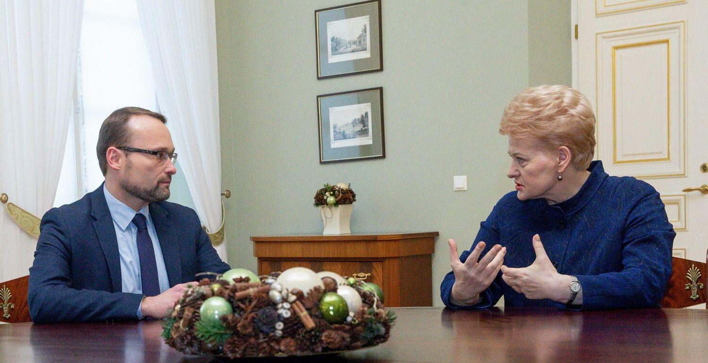 M. Kvietkauskas paskirtas kultūros ministru