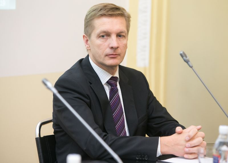 Arvydas Vaitkus, Klaipėdos valstybinio jūrų uosto direkcijos generalinis direktorius. Juditos Grigelytės (VŽ) nuotr.