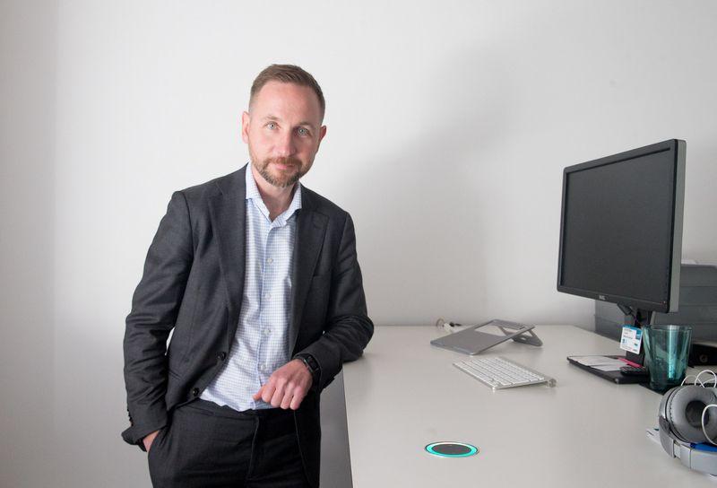 """Silvestras Tamutis, rizikos kapitalo investicijų UAB """"Practica Capital"""" partneris. Juditos Grigelytės (VŽ) nuotr."""