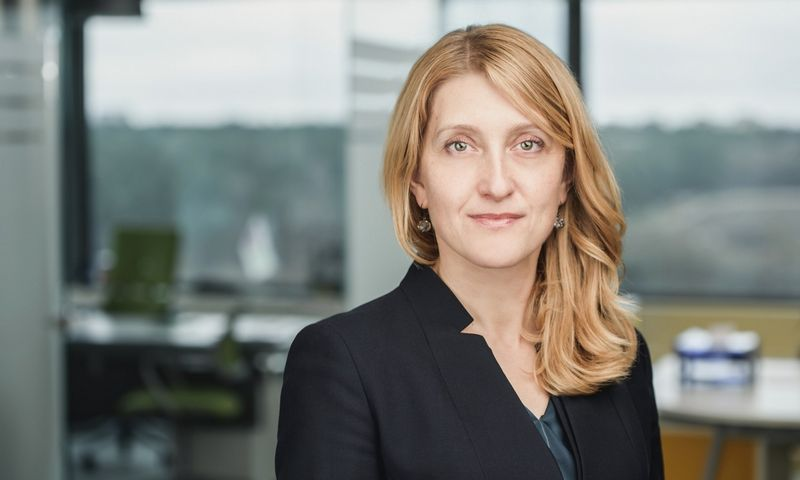 """""""Aiškiai matome """"Utenos trikotažo"""" grupės potencialą, – sako Jolanta Grašienė, SBA viceprezidentė. SBA grupės nuotr."""