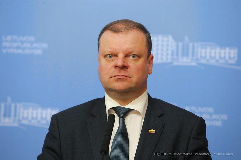 Premjeras Saulius Skvernelis. Vladimiro Ivanovo (VŽ) nuotr.