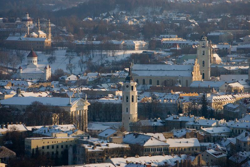 Vilniaus panorama. Juditos Grigelytės (VŽ) nuotr.