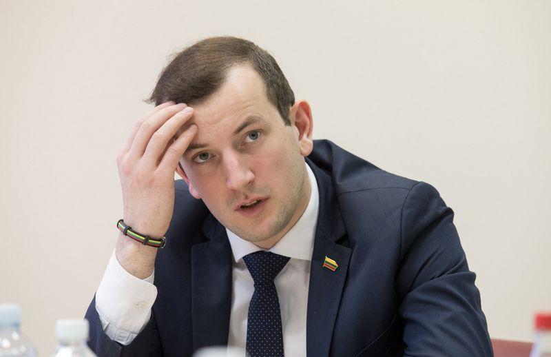 Virginijus Sinkevičius, ūkio ministras.@TX Tekstas with indent:Vladimiro Ivanovo (VŽ) nuotr.