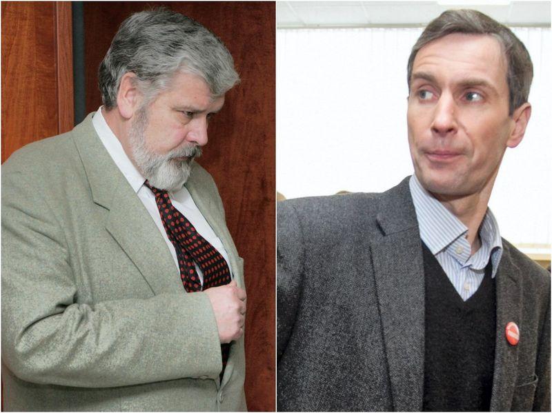 Valerijus Ivanovas, Algirdas Paleckis. Scanpix nuotr. / VŽ koliažas.