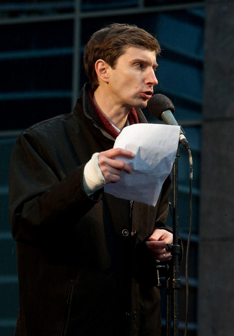 Algirdas Paleckis. Herkaus Milaševičiaus nuotr.