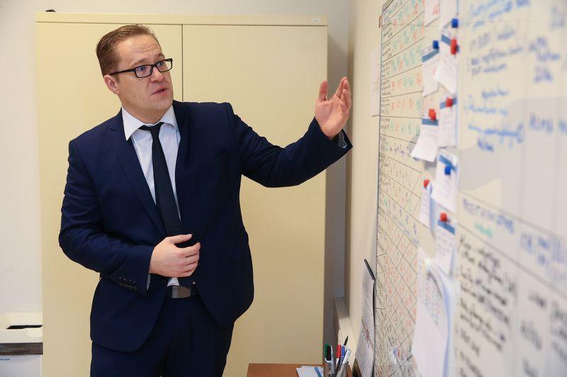 Aurimas Pautienius-Želvys, LVPA direktorius. Vladimiro Ivanovo (VŽ) nuotr.