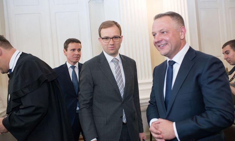 """""""MG Baltic"""" byla: Eligijus Masiulis, Vytautas Gapšys, Raimondas Kurlianskis. Vladimiro Ivanovo (VŽ) nuotr."""