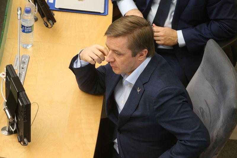 Seime 2019 metų biudžeto svarstymas. Vladimiro Ivanovo (VŽ) nuotr.