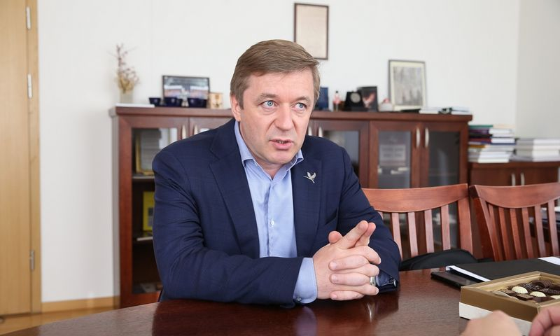 Seimo narys Ramūnas Karbauskis. Vladimiro Ivanovo (VŽ) nuotr.