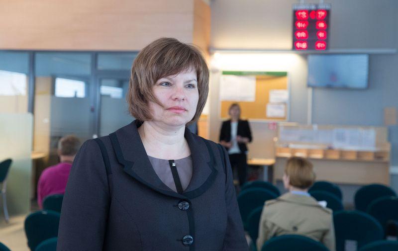 Edita Glumbakienė, buvusi Vilniaus apskrities VMI viršininkė. Juditos Grigelytės (VŽ) nuotr.
