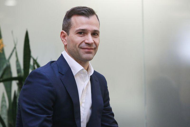 Renato La Fianza, bendrovės Vlinius factoring company generalinis direktorius. Vladimiro Ivanovo (VŽ) nuotr.