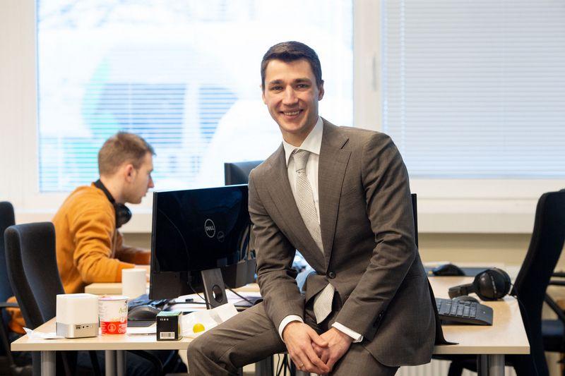 """Povilas Vytautas Dudonis, """"Serfy"""" įkūrėjas. Juditos Grigelytės (VŽ) nuotr."""