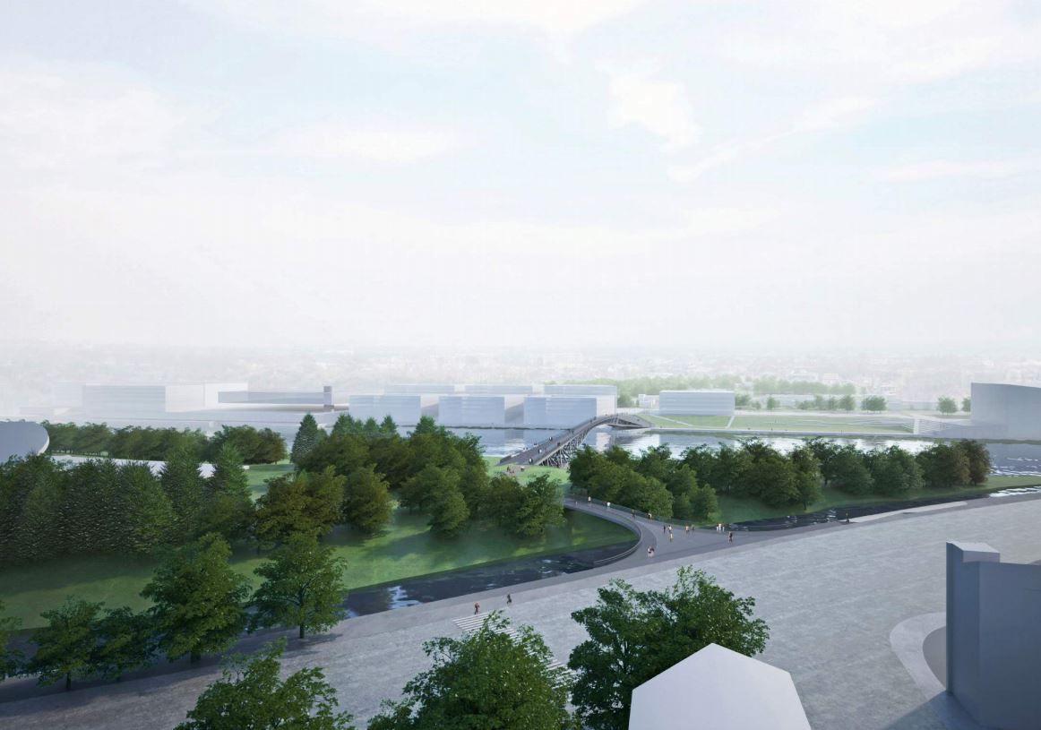 Paruošė pėsčiųjų tiltų per Nemuną Kaune projektą