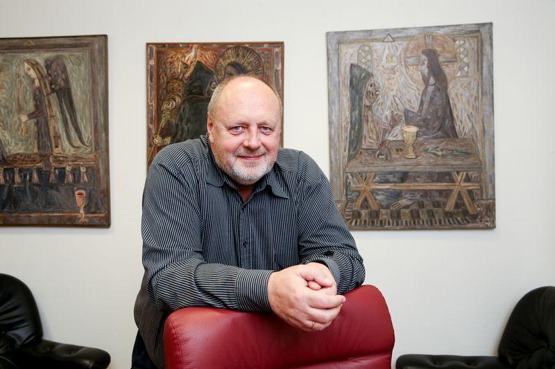 """UAB """"Lithuanian Tours"""" generalinis direktorius Kęstutis Ambrozaitis: """"2018 m. didžiausias iššūkis buvo apgyvendinti visus turistus, norinčius aplankyti Lietuvą sezono metu, o 2019 m. didžiausias iššūkis bus auginti turistų srautus ne sezono metu."""" Vladimiro Ivanovo (VŽ) nuotr."""