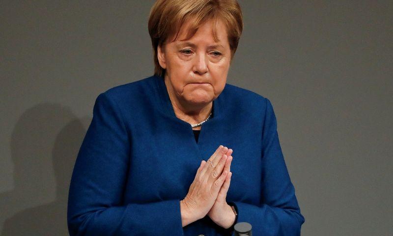 """Be Angelos Merkel sprendimų priėmimas Europoje taps komplikuotesnis. """"Reuters"""" nuotr."""