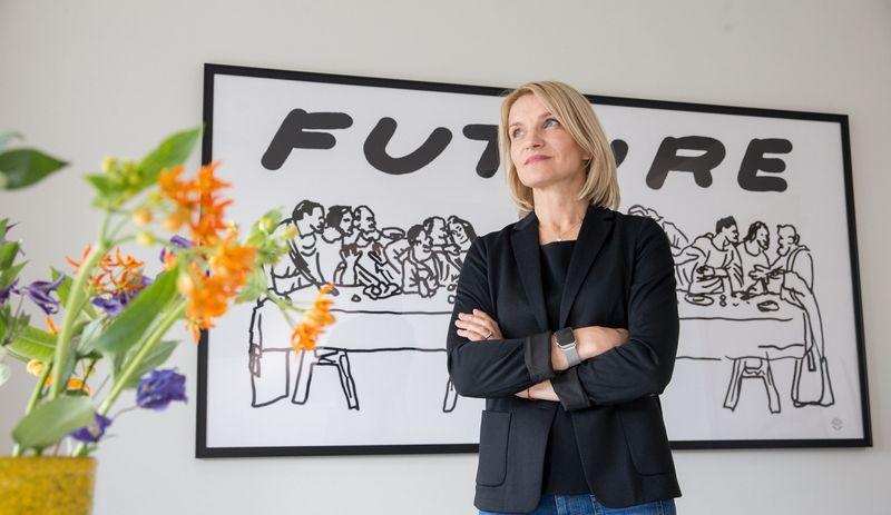 """Jolanta Pupkevičienė, kūrybinės agentūros """"Clinic 212"""" direktorė. Juditos Grigelytės (VŽ) nuotr."""