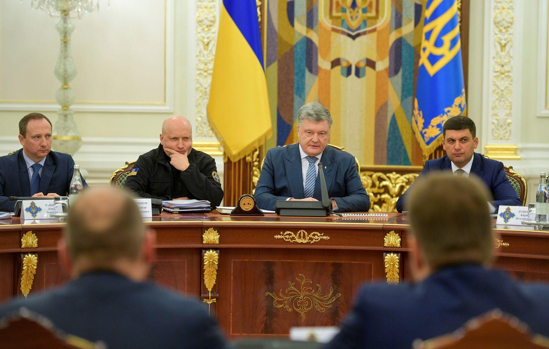 Ukrainoje atšaukta karinė padėtis