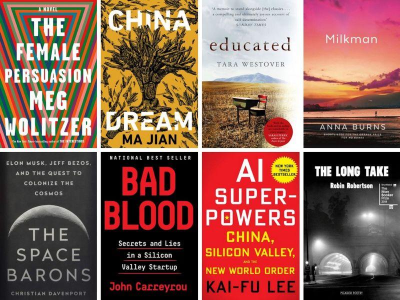 """Geriausių šių metų knygų sąrašą sudarė """"Financial Times"""" autoriai ir pašnekovai. VŽ koliažas."""