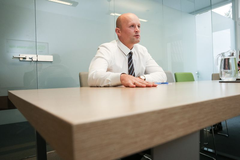 Mindaugas Keizeris, ESO Valdybos pirmininkas, generalinis direktorius. Vladimiro Ivanovo (VŽ) nuotr.