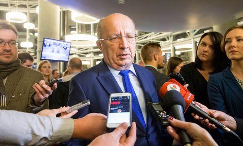 Vyriausybė kelia A. Kubiliaus kandidatūrą į Europos Tarybos vadovus