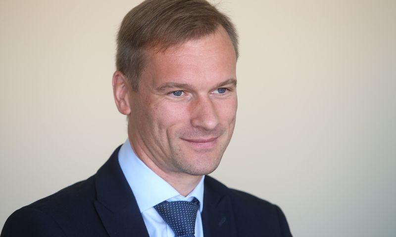 Marius Pulkauninkas, Valstybinių miškų urėdijos direktorius. Vladimiro Ivanovo (VŽ) nuotr.
