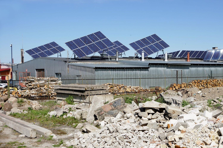 """Solet Technics"" šiemet sumontavo 1,17 MW saulės jėgainių"