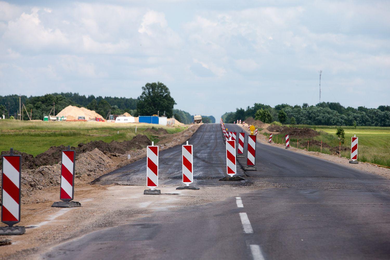 Kelių plėtrai ir priežiūrai 2019 m. skiriama 477,5 mln. Eur