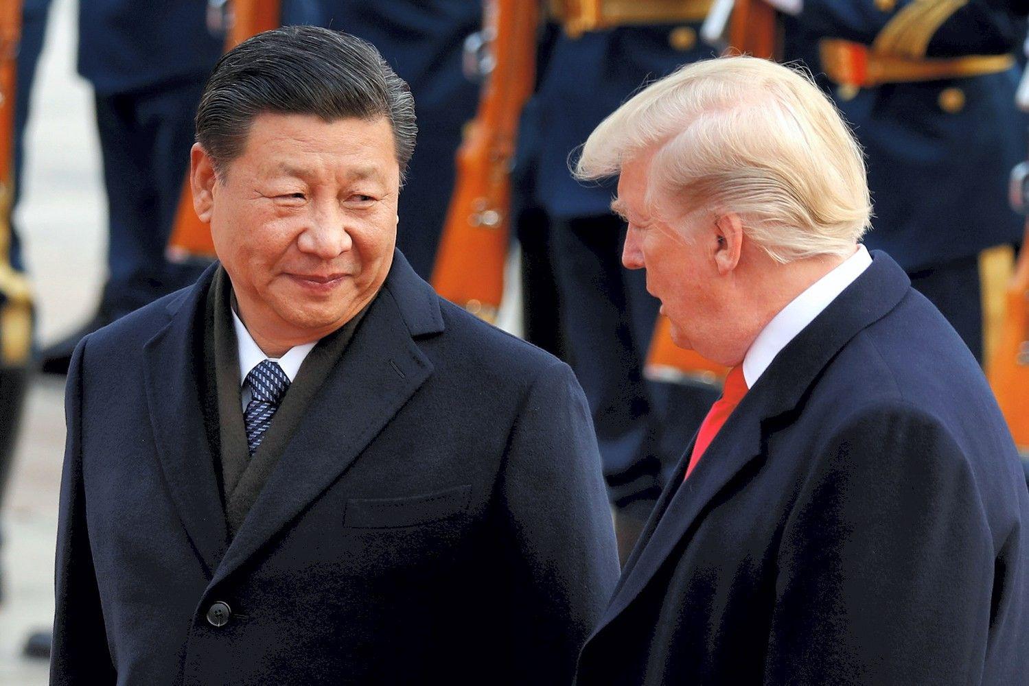 D. Trumpas džiaugiasi pokalbiu su Kinijos prezidentu