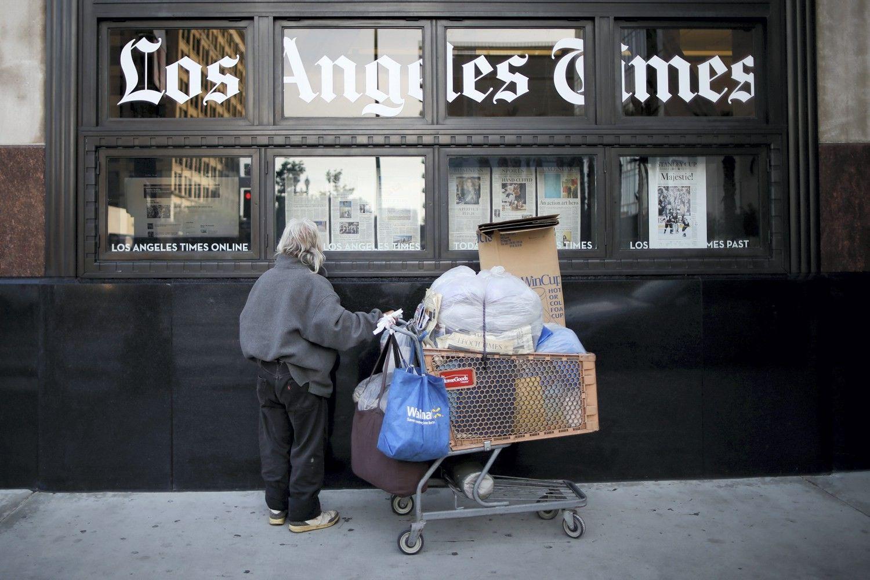 Kibernetinė ataka sutrikdė JAV spaudos leidybą ir platinimą