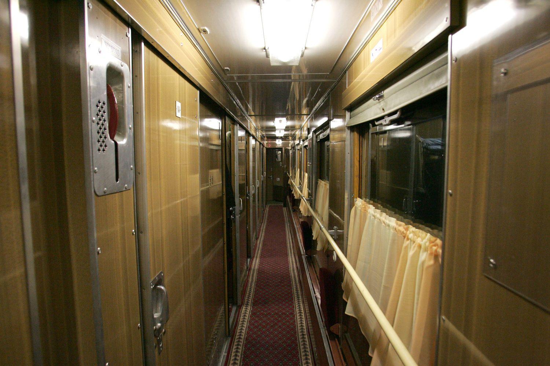 Traukinyje į Maskvą – verslo klasės vagonas