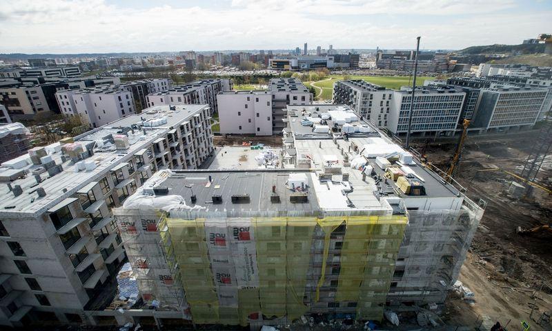 """Gyvenamųjų namų projektas Vilniuje """"Ozo parkas"""". Juditos Grigelytės (VŽ) nuotr."""