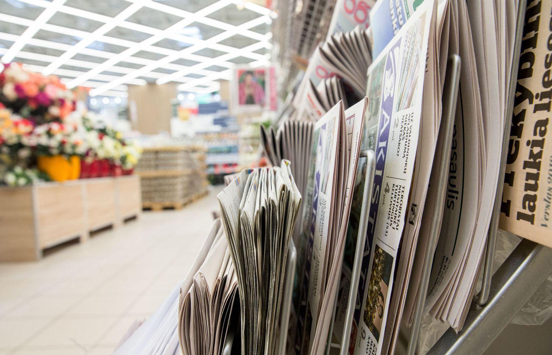 Mažėjant PVM spaudai, leidėjai jos piginti nežada