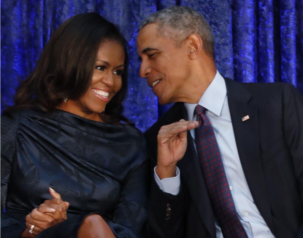 Amerikiečius labiausiai žavi Obamos