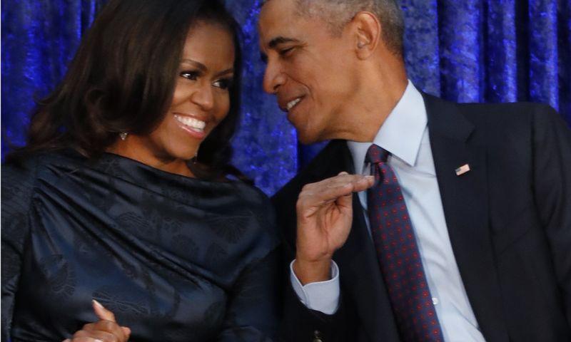 """Amerikiečiai labiausiai žavisi 44-uoju JAV prezidentu Baracku Obama ir buvusia pirmąja šalies ponia Michelle. JImo Bourgo (""""Reuters"""" / """"Scanpix"""") nuotr."""