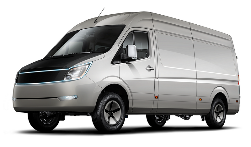 """""""AVEVAI IONA e-LCV"""" komercinio furgono elektros motorui energiją tiekia superkondensatoriai. Gamintojo nuotr."""