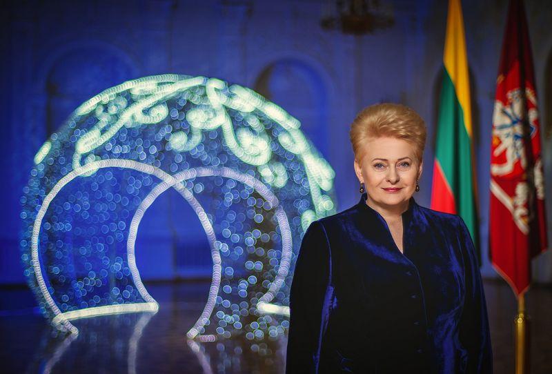 Prezidentė Dalia Grybauskaitė. LR prezidentūros nuotr.
