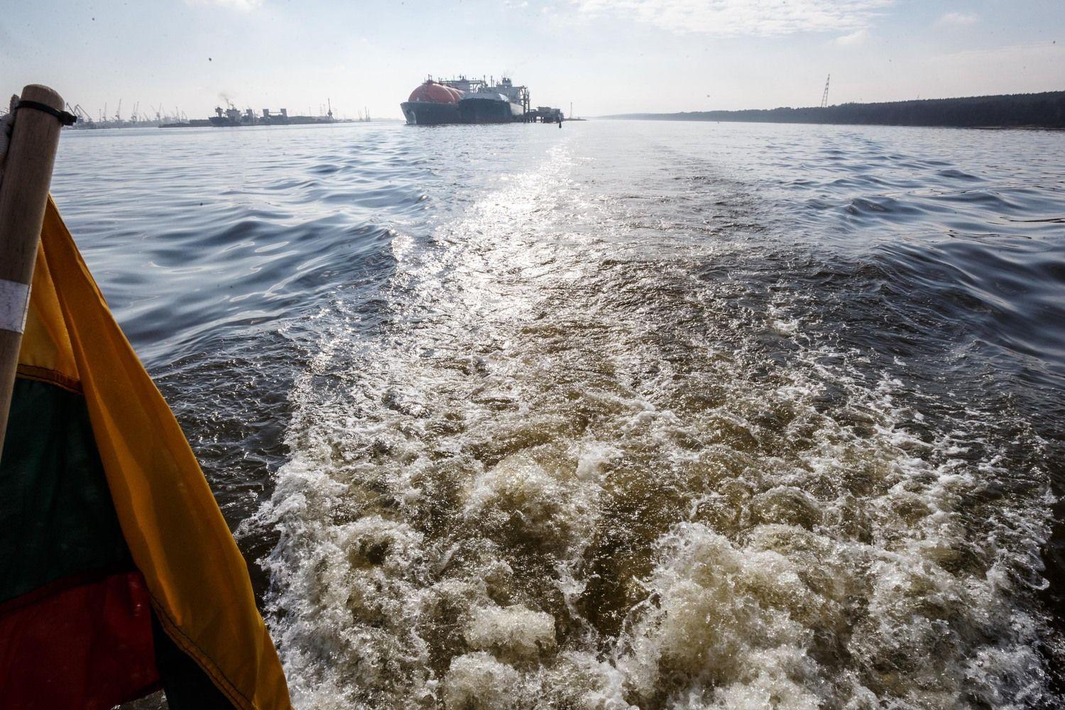 """SkGD bunkeriavimo laivas """"Kairos"""" – jau Klaipėdoje"""