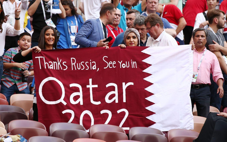 48 komandų pasaulio čempionate FIFA nori jau Katare