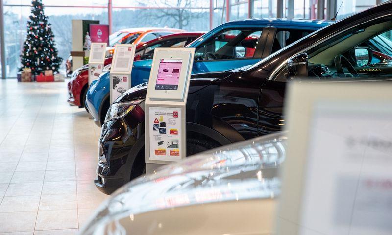 2018 m. Lietuvoje pasiektas naujas automobilių prekybos rekordas. Juditos Grigelytės (VŽ) nuotr.