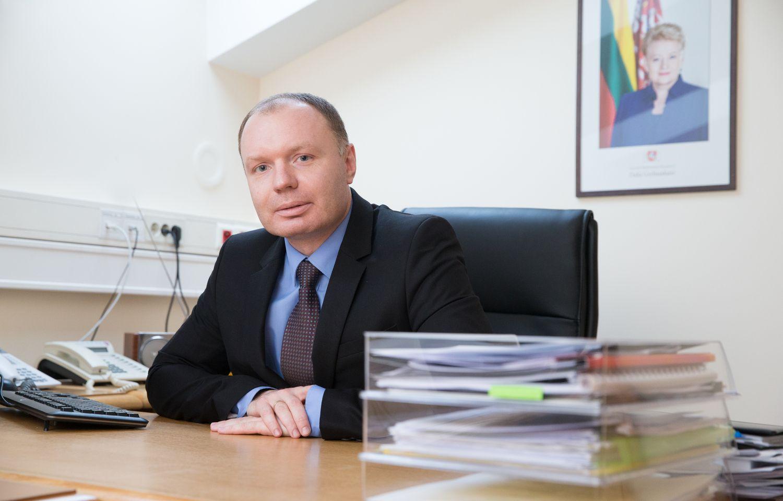 SkGD terminalo direktoriumi tapo prezidentės patarėjas
