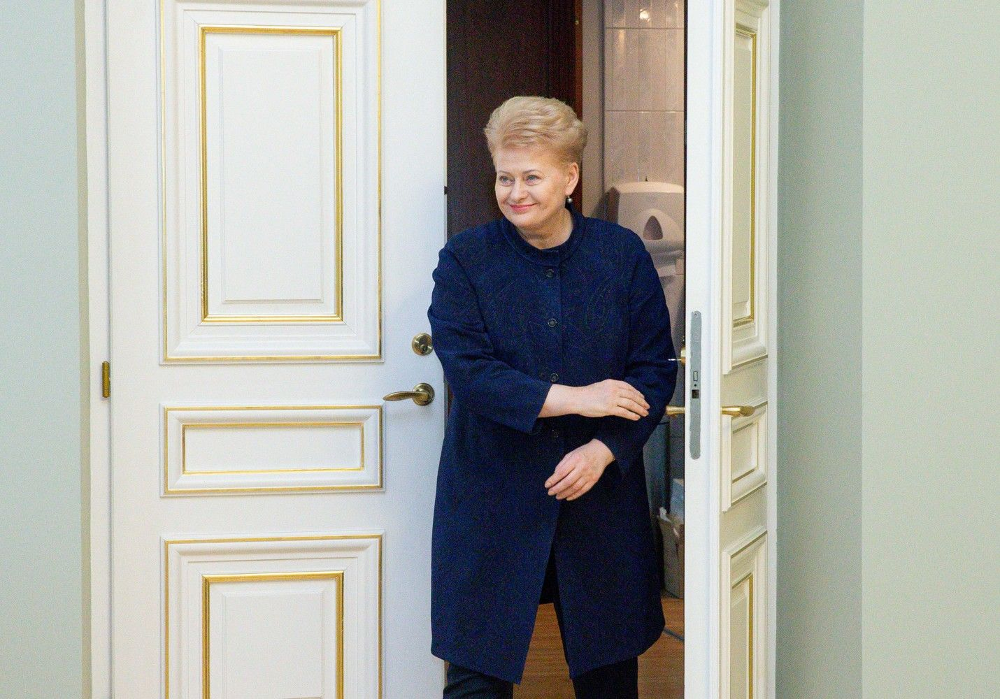 Baigdama kadenciją prezidentė lankysis Davose, Varšuvoje, Tokijuje, Vatikane