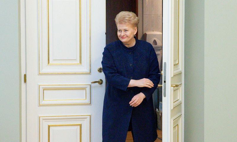 Prezidentė Dalia Grybauskaitė. Juditos Grigelytės (VŽ) nuotr.