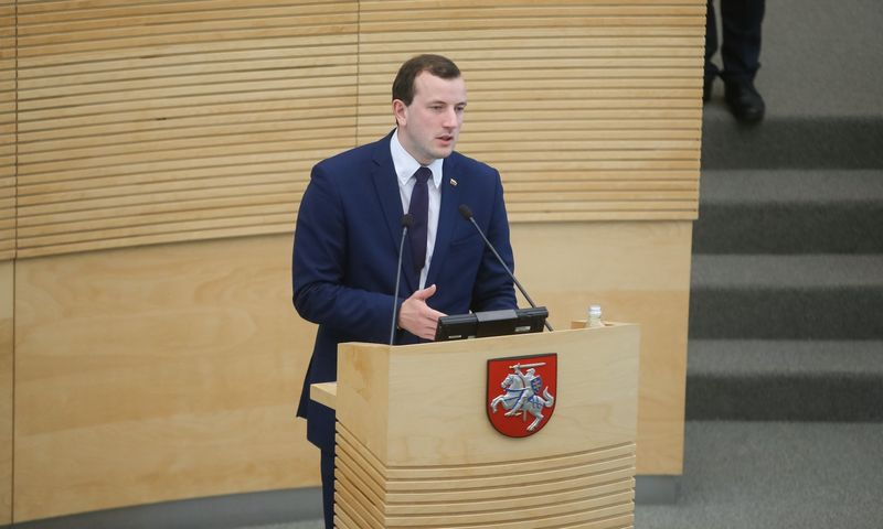 Virginijus Sinkevičius automatiškai tapo ekonomikos ir inovacijų ministru. Vladimiro Ivanovo (VŽ) nuotr.